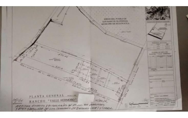 Foto de terreno habitacional en venta en  , san miguel (camino a valle hermoso), zumpango, méxico, 1317883 No. 01