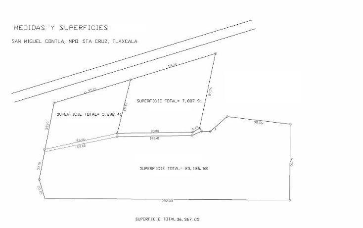 Foto de terreno habitacional en venta en  , san miguel contla, santa cruz tlaxcala, tlaxcala, 1056823 No. 02