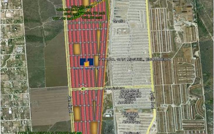 Foto de terreno comercial en venta en  , san miguel, general escobedo, nuevo león, 949307 No. 01