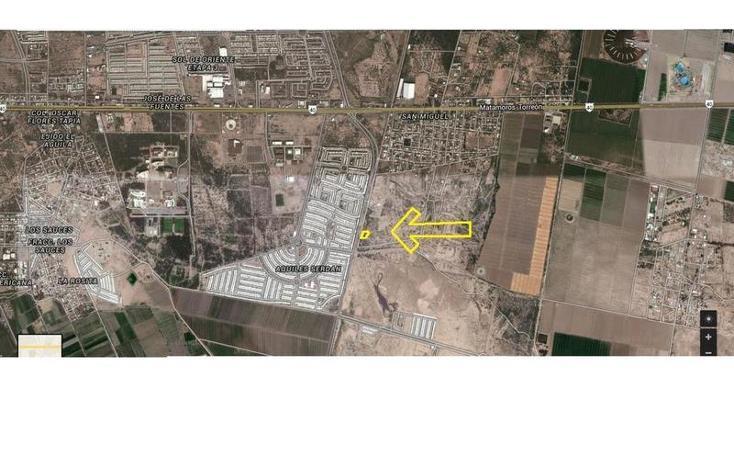 Foto de terreno habitacional en venta en  , san miguel, matamoros, coahuila de zaragoza, 982499 No. 03