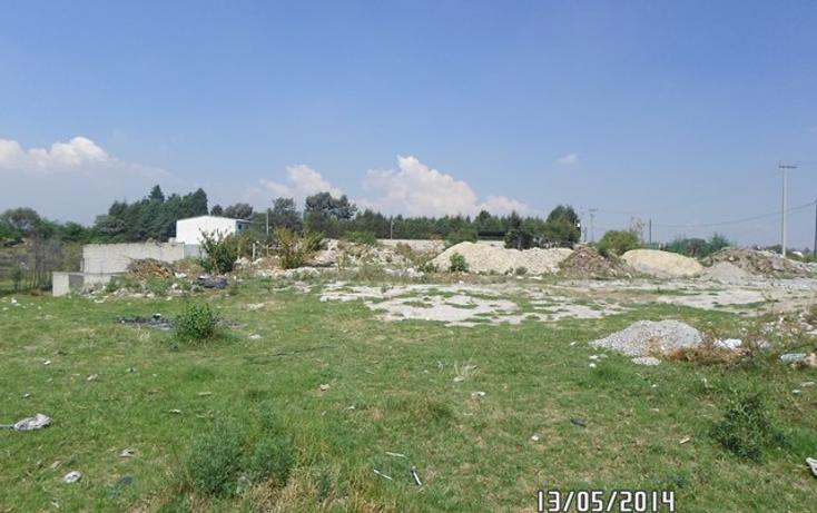Foto de terreno comercial en venta en  , san miguel, metepec, méxico, 1102555 No. 01