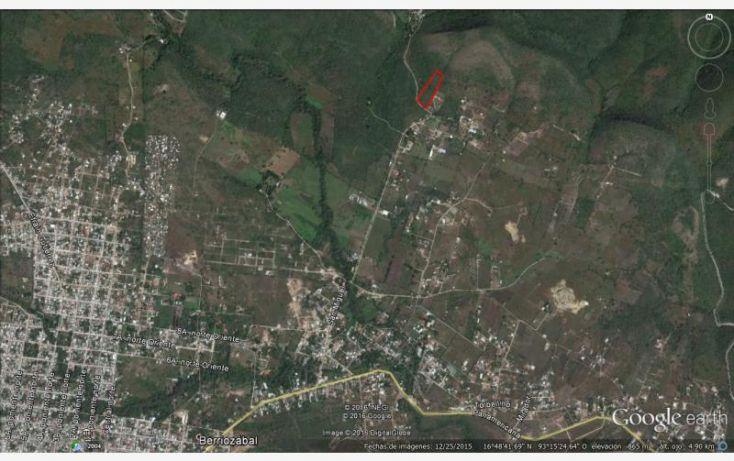 Foto de terreno habitacional en venta en san miguel, san miguel, berriozábal, chiapas, 1904616 no 01