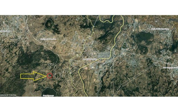 Foto de terreno habitacional en venta en  , san miguel topilejo, tlalpan, distrito federal, 1139097 No. 04
