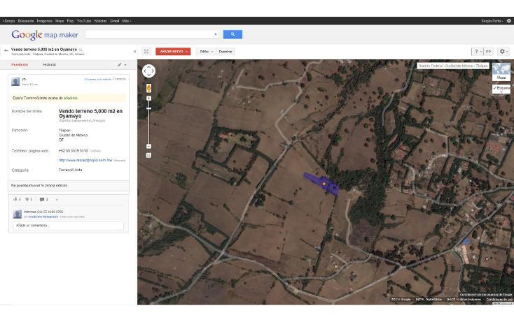 Foto de terreno habitacional en venta en  , san miguel topilejo, tlalpan, distrito federal, 1139097 No. 17