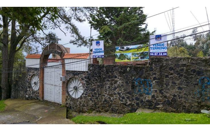 Foto de terreno habitacional en venta en  , san miguel topilejo, tlalpan, distrito federal, 1170059 No. 01