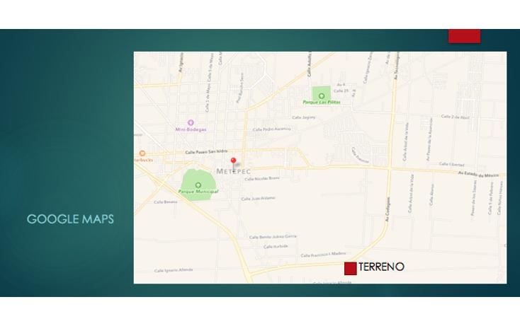 Foto de terreno comercial en venta en  , san miguel totocuitlapilco, metepec, méxico, 2014718 No. 02