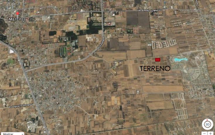 Foto de terreno habitacional en venta en  , san miguel totocuitlapilco, metepec, méxico, 2015214 No. 03