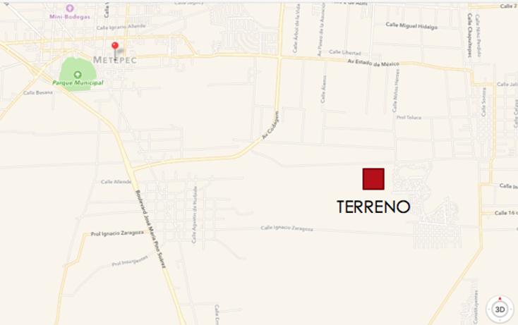 Foto de terreno habitacional en venta en  , san miguel totocuitlapilco, metepec, méxico, 2015214 No. 04
