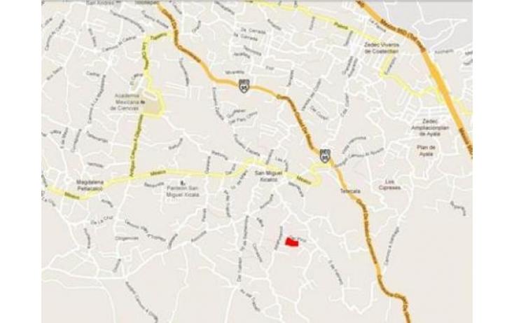 Foto de terreno habitacional en venta en, san miguel xicalco, tlalpan, df, 565213 no 03