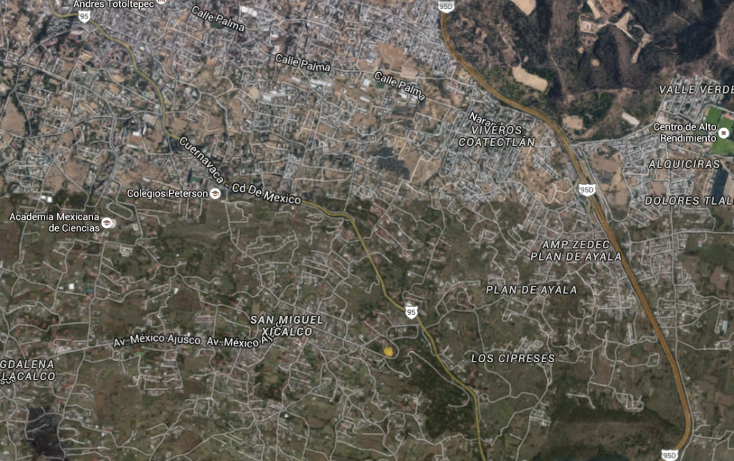Foto de terreno habitacional en venta en  , san miguel xicalco, tlalpan, distrito federal, 1489071 No. 02