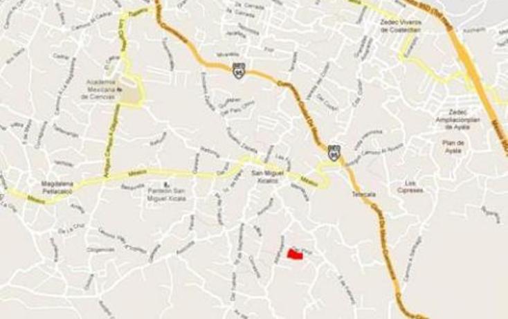 Foto de terreno habitacional en venta en  , san miguel xicalco, tlalpan, distrito federal, 1733532 No. 03