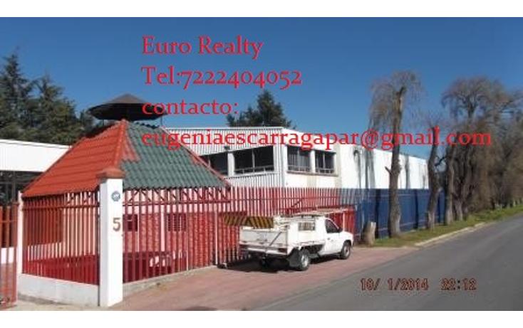Foto de nave industrial en renta en  , san nicolás tlazala, capulhuac, méxico, 1123781 No. 01