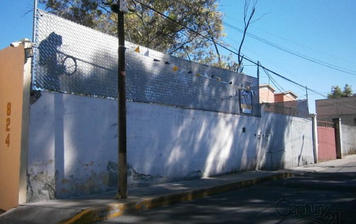 Foto de terreno habitacional en venta en  , san nicol?s tolentino, iztapalapa, distrito federal, 1854338 No. 01