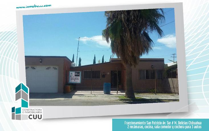 Foto de casa en venta en  , san patricio, delicias, chihuahua, 1474345 No. 01