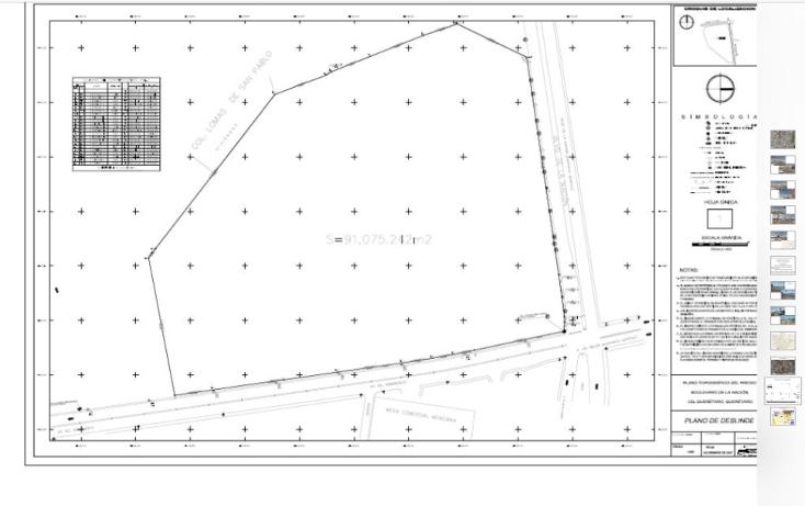 Foto de terreno comercial en venta en  , san pedrito peñuelas iv, querétaro, querétaro, 1289575 No. 02
