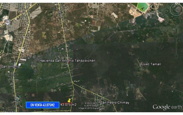 Foto de terreno habitacional en venta en  , san pedro chimay, mérida, yucatán, 1157651 No. 04