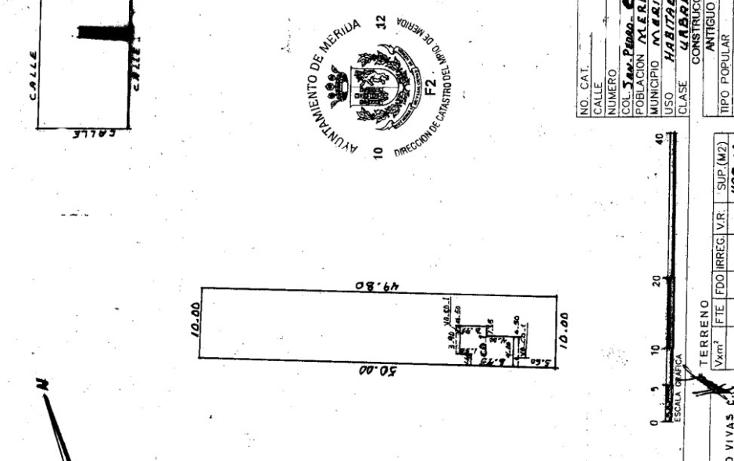 Foto de terreno habitacional en venta en  , san pedro cholul, mérida, yucatán, 1082715 No. 01