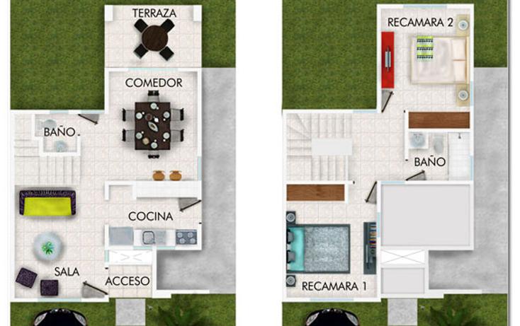 Foto de casa en venta en  , san pedro cholul, mérida, yucatán, 1135139 No. 02