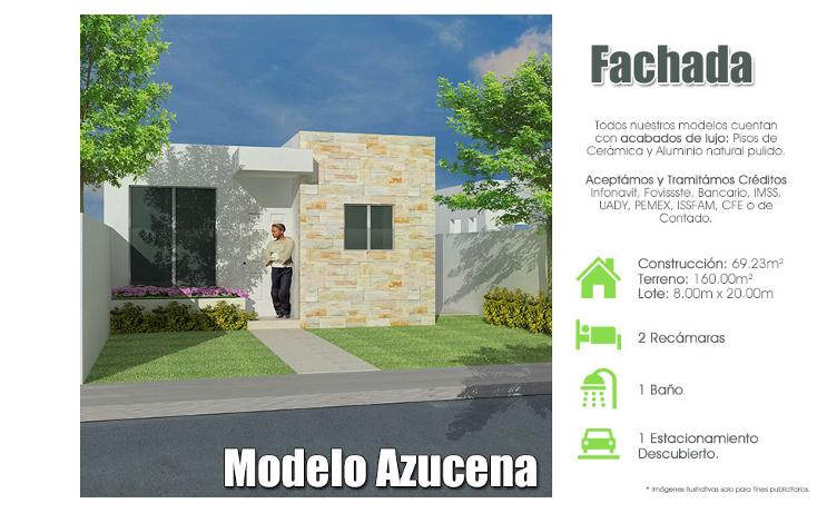Foto de casa en venta en  , san pedro cholul, mérida, yucatán, 1171903 No. 01