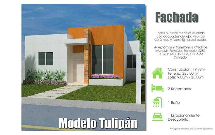 Foto de casa en venta en  , san pedro cholul, mérida, yucatán, 1195245 No. 01