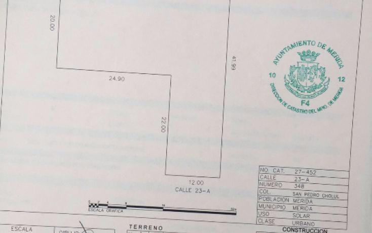 Foto de terreno habitacional en venta en, san pedro cholul, mérida, yucatán, 1830110 no 03