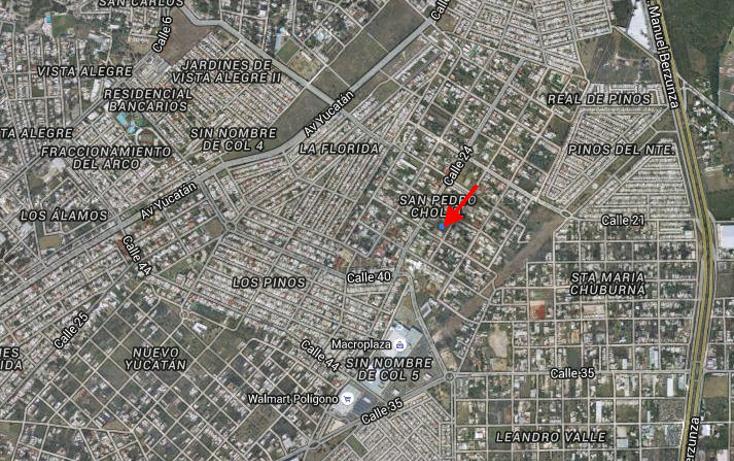 Foto de terreno habitacional en venta en  , san pedro cholul, mérida, yucatán, 941555 No. 01