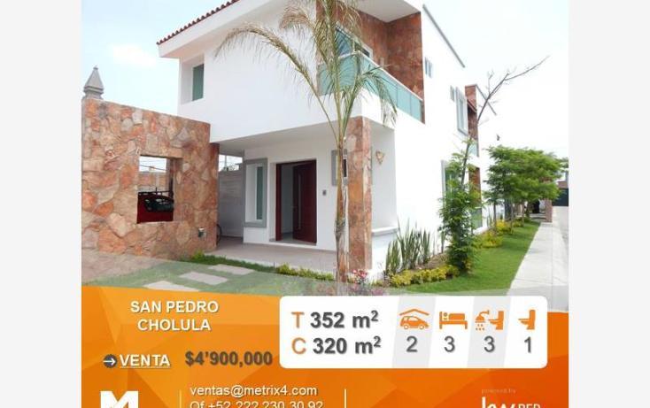 Foto de casa en venta en  1, san pedro, puebla, puebla, 1308869 No. 01