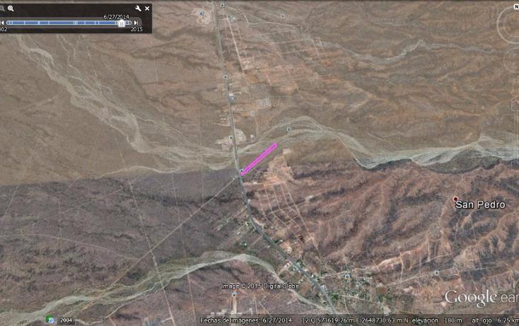 Foto de terreno habitacional en venta en  , san pedro, la paz, baja california sur, 1475677 No. 03