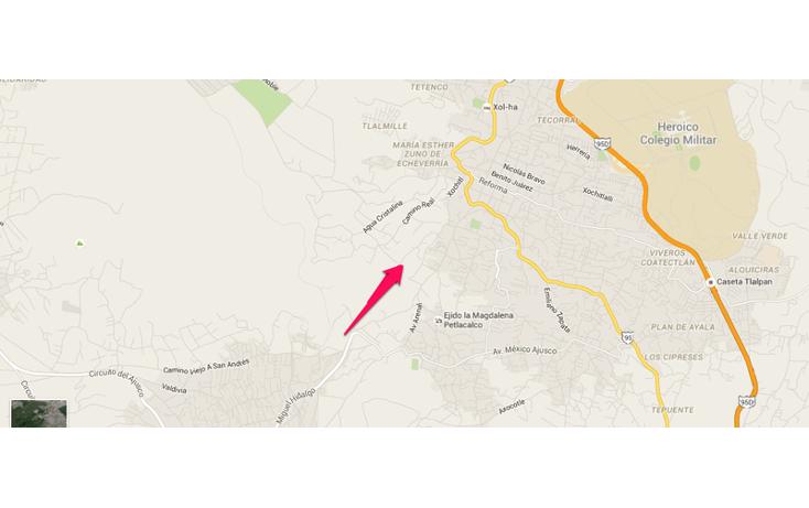 Foto de terreno habitacional en venta en  , san pedro m?rtir fovissste, tlalpan, distrito federal, 1876420 No. 08