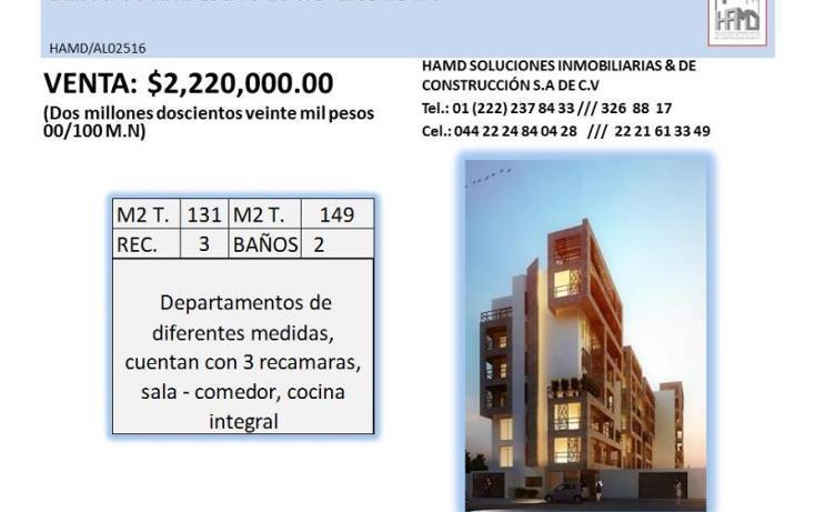 Foto de departamento en venta en  , san pedro, puebla, puebla, 1847378 No. 03