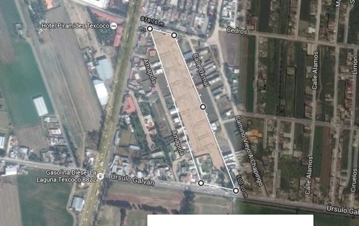 Foto de terreno habitacional en venta en  , san pedro, texcoco, méxico, 1631626 No. 03