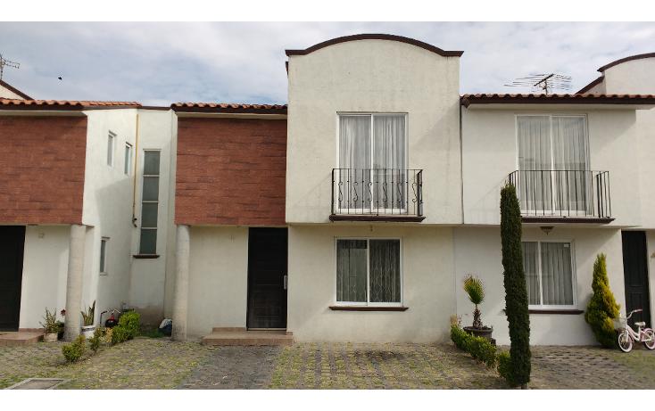 Foto de casa en venta en  , san pedro totoltepec, toluca, méxico, 1294323 No. 01