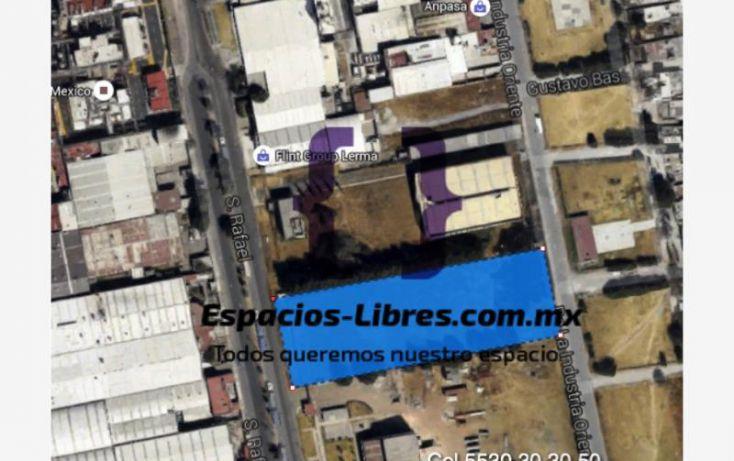 Foto de terreno habitacional en renta en san rafael 17, isidro fabela, lerma, estado de méxico, 1703036 no 01