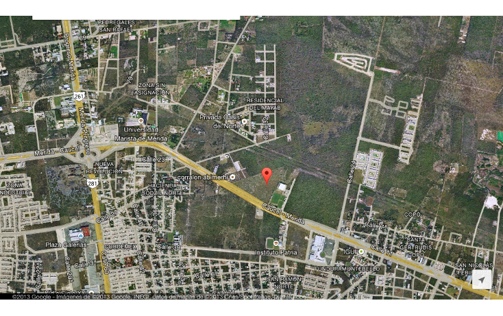 Foto de terreno comercial en venta en  , san ramon norte, mérida, yucatán, 1064129 No. 01