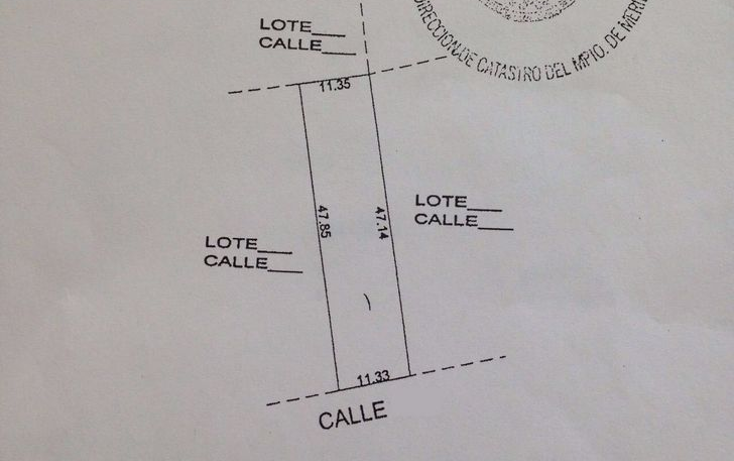 Foto de terreno habitacional en venta en  , san ramon norte, mérida, yucatán, 1106301 No. 01