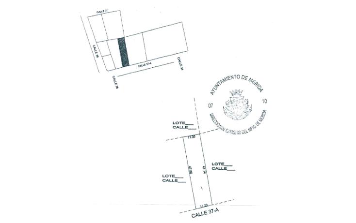 Foto de terreno habitacional en venta en  , san ramon norte, mérida, yucatán, 1146029 No. 01