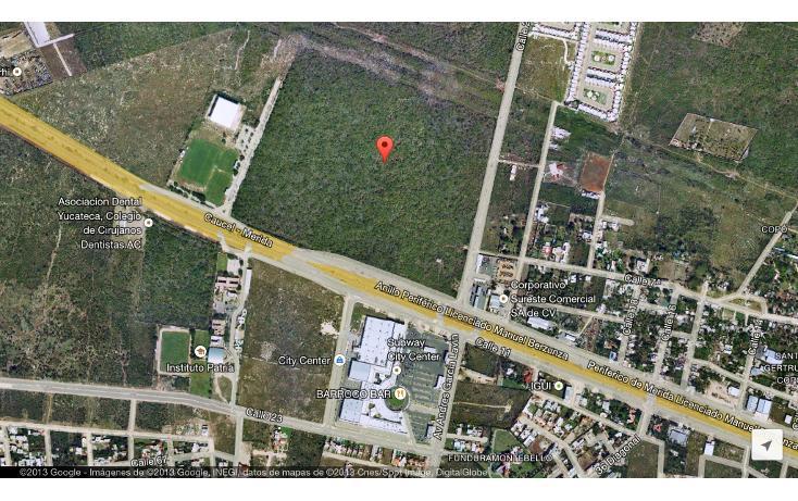 Foto de terreno habitacional en venta en  , san ramon norte, mérida, yucatán, 1163943 No. 01