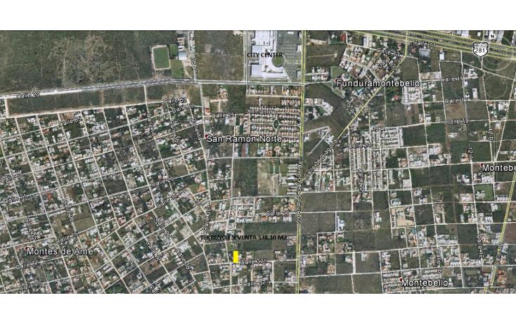 Foto de terreno habitacional en venta en, san ramon norte, mérida, yucatán, 1248617 no 01