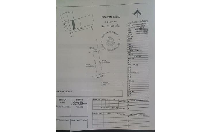 Foto de terreno habitacional en venta en  , san ramon norte, mérida, yucatán, 1248617 No. 04