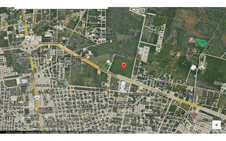 Foto de terreno habitacional en venta en  , san ramon norte, mérida, yucatán, 1266721 No. 01