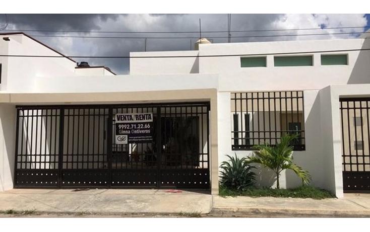 Foto de casa en renta en  , san ramon norte, m?rida, yucat?n, 1499823 No. 01
