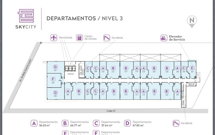 Foto de departamento en venta en  , san ramon norte, mérida, yucatán, 1554708 No. 06