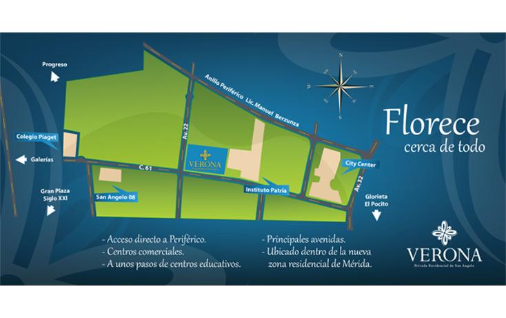 Foto de terreno habitacional en venta en  , san ramon norte, mérida, yucatán, 1573456 No. 02