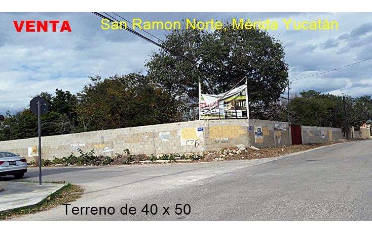 Foto de terreno habitacional en venta en  , san ramon norte, m?rida, yucat?n, 1927645 No. 01