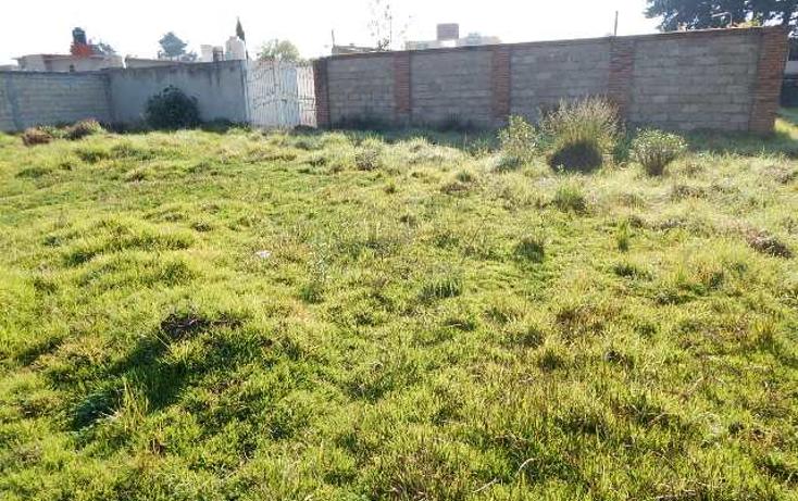 Foto de terreno habitacional en venta en  , san salvador, metepec, m?xico, 944181 No. 06