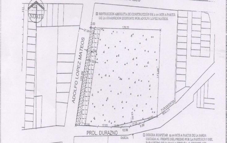 Foto de terreno comercial en venta en, san salvador tizatlalli, metepec, estado de méxico, 1312229 no 02