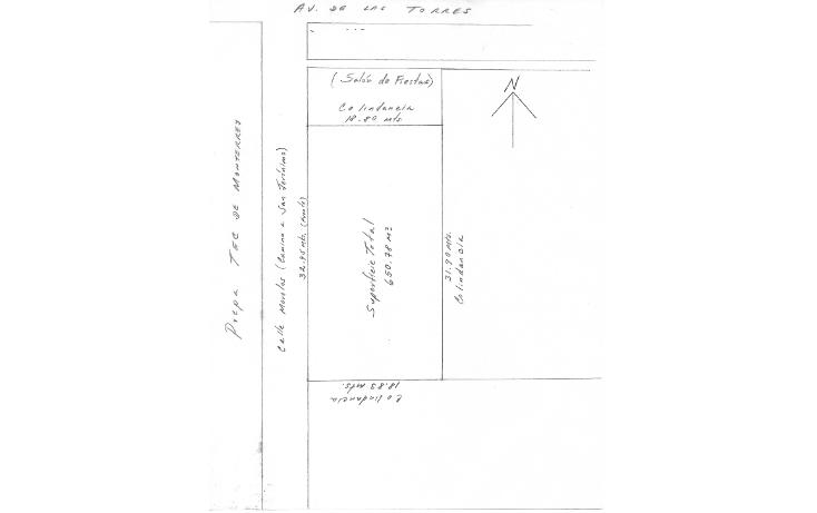 Foto de terreno habitacional en venta en  , san salvador tizatlalli, metepec, m?xico, 1045797 No. 05