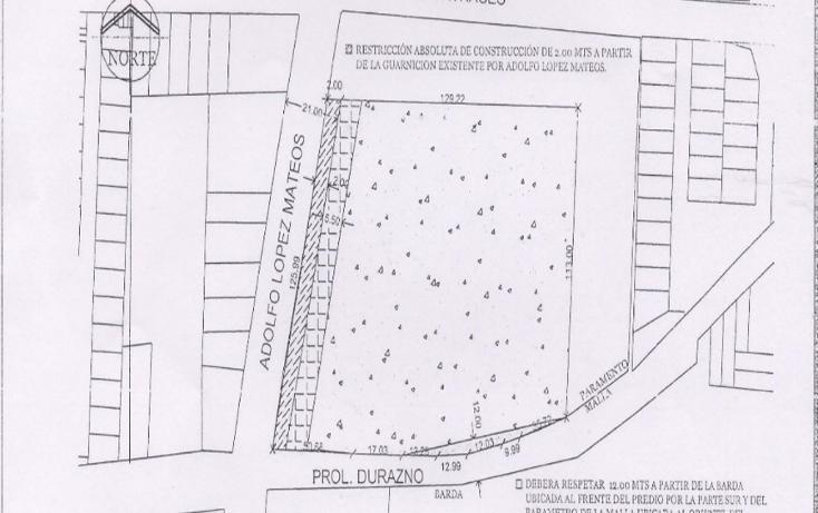 Foto de terreno comercial en venta en  , san salvador tizatlalli, metepec, méxico, 1312229 No. 02