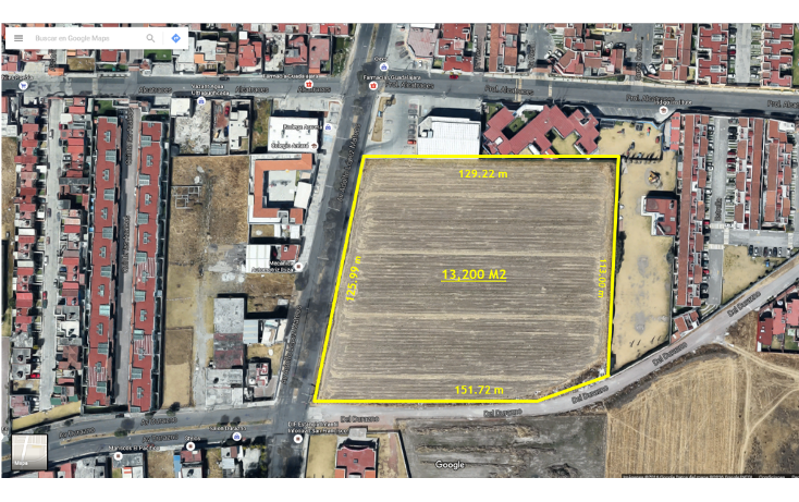 Foto de terreno comercial en venta en  , san salvador tizatlalli, metepec, méxico, 1312229 No. 03
