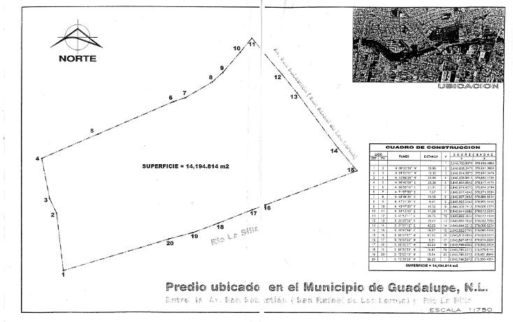 Foto de terreno comercial en venta en  , san sebastián, guadalupe, nuevo león, 946281 No. 03